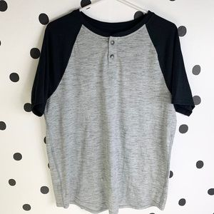 🌈5/$25🌈EUC Urban Pipeline grey/black soft shirt